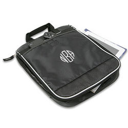 Checkpoint Friendly Monogrammed Laptop Case