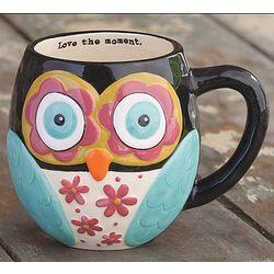 Love the Moment Owl Mug