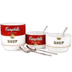 Campbell's Stackable Bowl and Spoon Set
