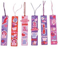 24 Valentine Bookmark Kit