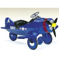 Corsair Pedal Plane Ride-On Toy