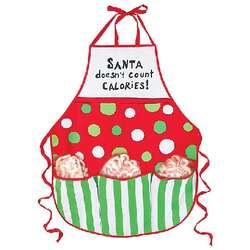 Snowman Candy Cane Apron Gift Set