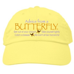 Advice From a Butterfly Cap