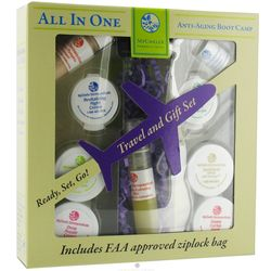 All in One Travel and Anti-Aging Boot Camp Gift Set