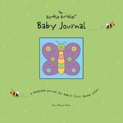 Humble Bumbles' Baby Journal