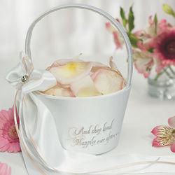 Fairy Tale Dreams Flower Girl Basket