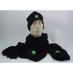 John Deere Winter Hat, Gloves, and Scarf Set