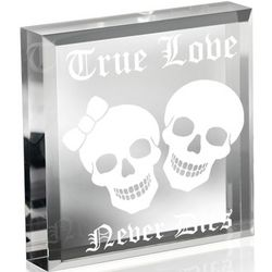 Undying Love Engraved Plaque