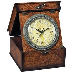 Yellow Daffodils Box Clock