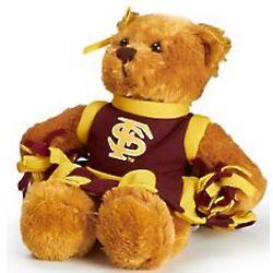 FSU Seminoles Cheerleader Teddy Bear