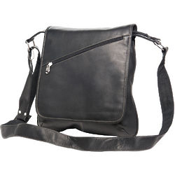 Deluxe Vaquetta Leather Slim Messenger Bag