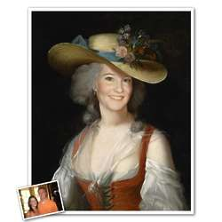 Classic Painting of Anne Personalized Art Print