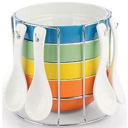 Colorful Ceramic Portion Bowls