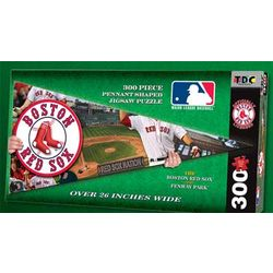 Boston Red Sox Pennant Jigsaw Puzzle