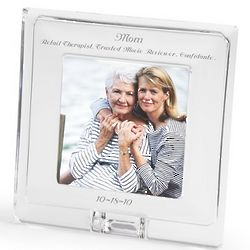 Square Crystal Picture Frame