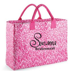 Personalized Bridal Party Tote