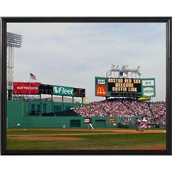 Boston Red Sox Personalized Scoreboard 16x20 Framed Canvas