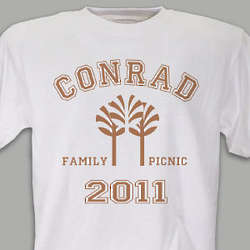 Personalized Family Picnic Shirt