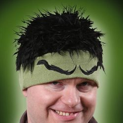 Avengers Hulk Beanie with Hair