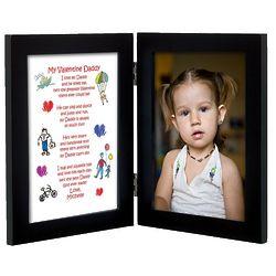 Personalized 5x7 Daddy Valentine Print Frame