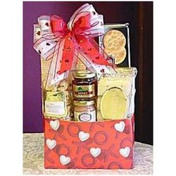 Gourmet Treats Kisses and Hugs Gift Box