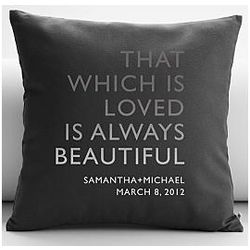 Personalized Always Beautiful Quote Throw Pillow