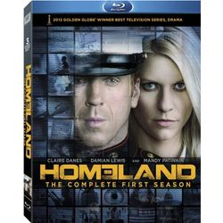 Homeland: The Complete First Season on Blu-Ray