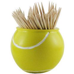 Tennis Ball Toothpick Holder