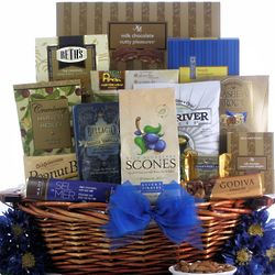 Happy Hanukkah Gourmet Kosher Gift Basket