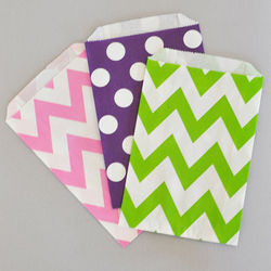 Chevron or Dots Pattern Goodie Bags