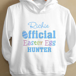 Official Egg Hunter Toddler Hooded Sweatshirt