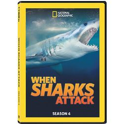 When Sharks Attack - Season 4 DVD