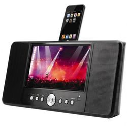 "iPod Docking Station with 8.5"" LCD"