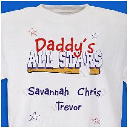 All-Star Parent Baseball T-Shirt