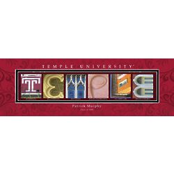 Temple University Architecture Personalized Print