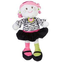 Zebra Girl Snuggle Buddy Doll
