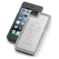 Surrounded Sparkle Silver iPhone 5 Case