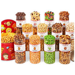 12 Month Popcorn Gift of the Month Club