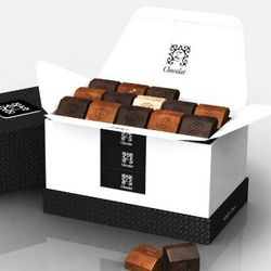 zBox 45 Decadent French Chocolates Gift Box