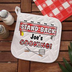 Stand Back Grilling Potholder