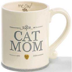 Cat Mom Ceramic Mug