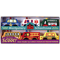 Wooden Toy Community Scoots Box Set