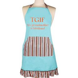 TGIF This Grandmother is Fabulous Apron