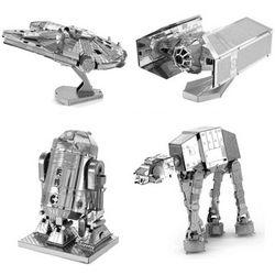 Metal Earth Star Wars Models Set