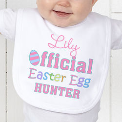 Official Egg Hunter Infant Bib
