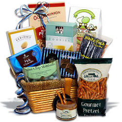 Gourmet Snacks and Treats Passover Gift Basket