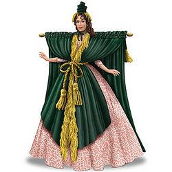 Carol Burnett Starlet O Hara Went With The Wind Figurine Findgift Com
