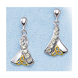 Celtic 'Ribbon of Life' Earrings