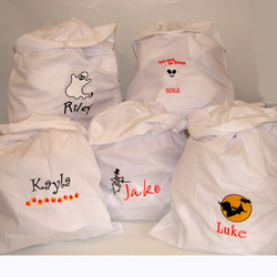 Personalized Trick or Treat Pillow Cases