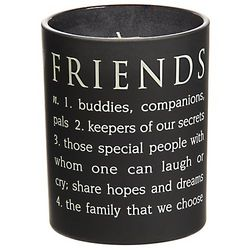 Friends Definition Sentiment Candle